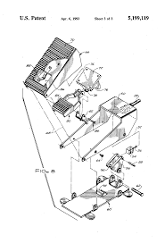 Foot Pedal Faucet Valve by Patent Us5199119 Foot Operated Water Control Google Patents