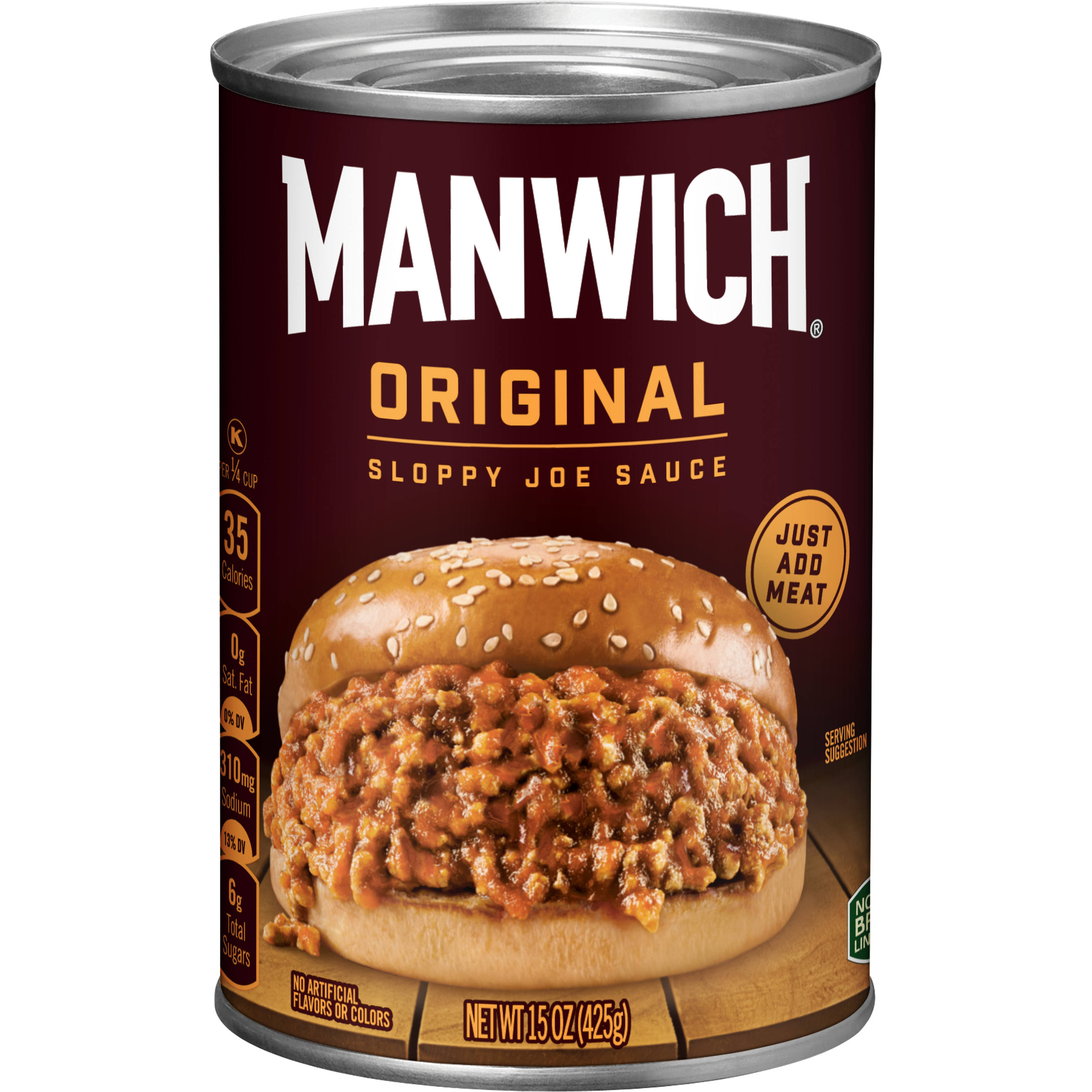 Hunt's Manwich Sloppy Joe Sauce - Original, 425g