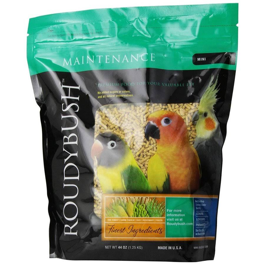 Roudybush Daily Maintenance Bird Food - Mini, 44 Oz