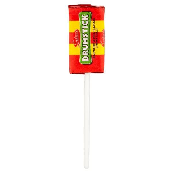 Swizzels Drumstick Lolly - Raspberry and Milk, 12g