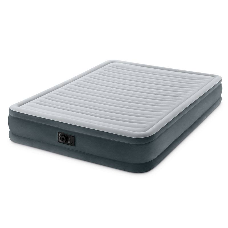 Intex 13in Queen Dura-Beam Comfort-Plush Mid Rise Airbed with Built-In Electric Pump