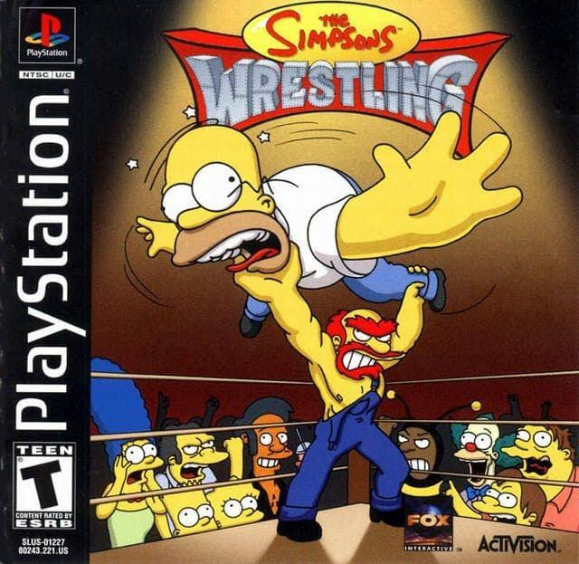 The Simpsons Wrestling - Sony Playstation 1