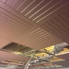 Armstrong Woodhaven Ceiling Planks by Suspended Ceiling Drop Ceiling Grid Painted With Bead Board Panels