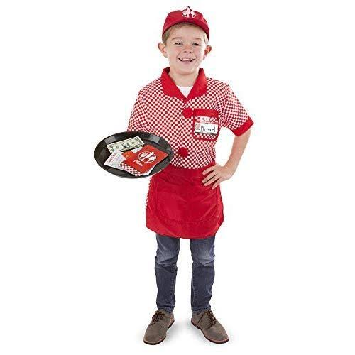 Melissa & Doug - Server Role Play Costume Set