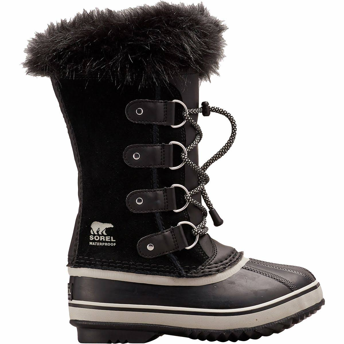 Sorel Youth Joan of Arctic Boot - 3 - Black / Dove