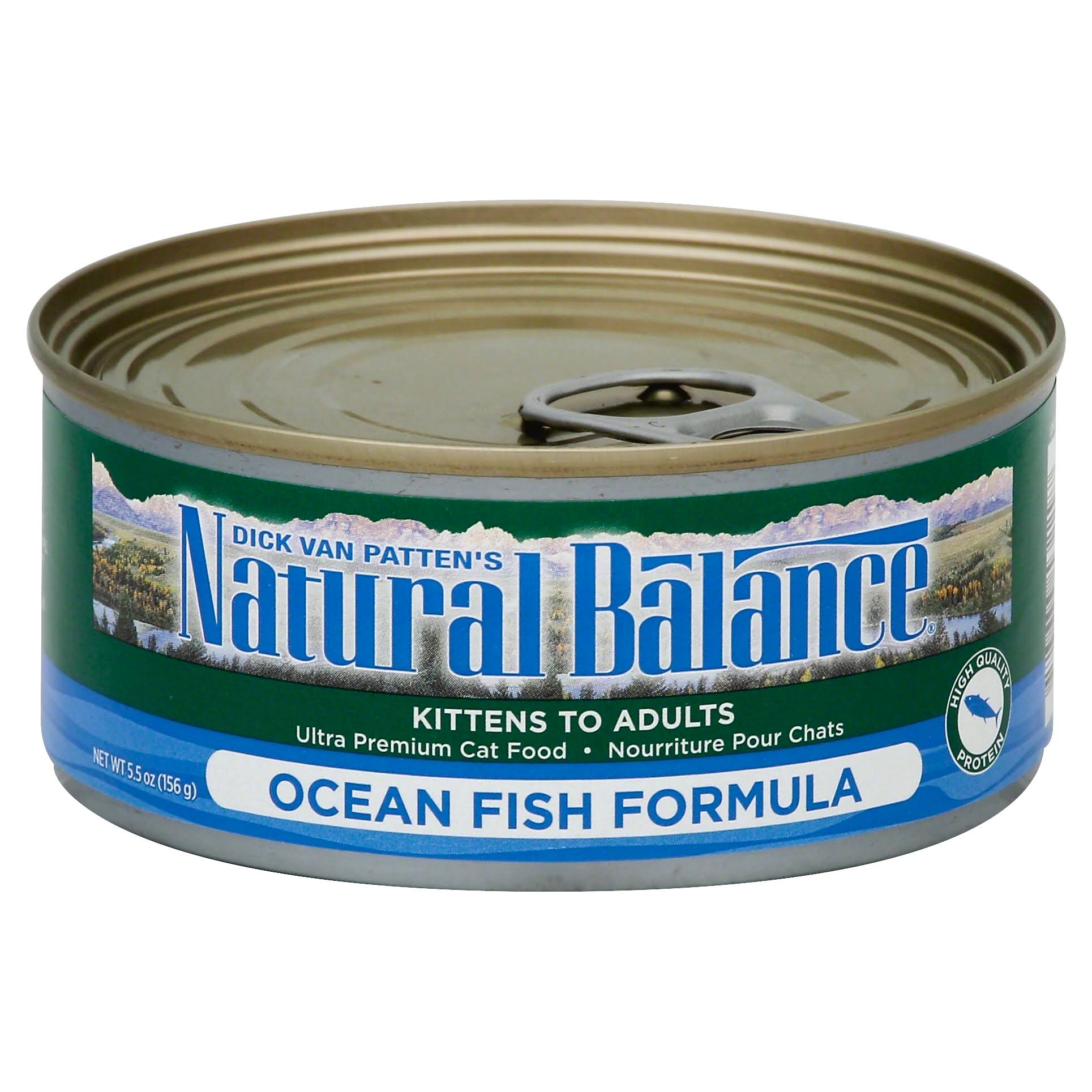 Natural Balance Canned Cat Food - Ocean Fish Formula