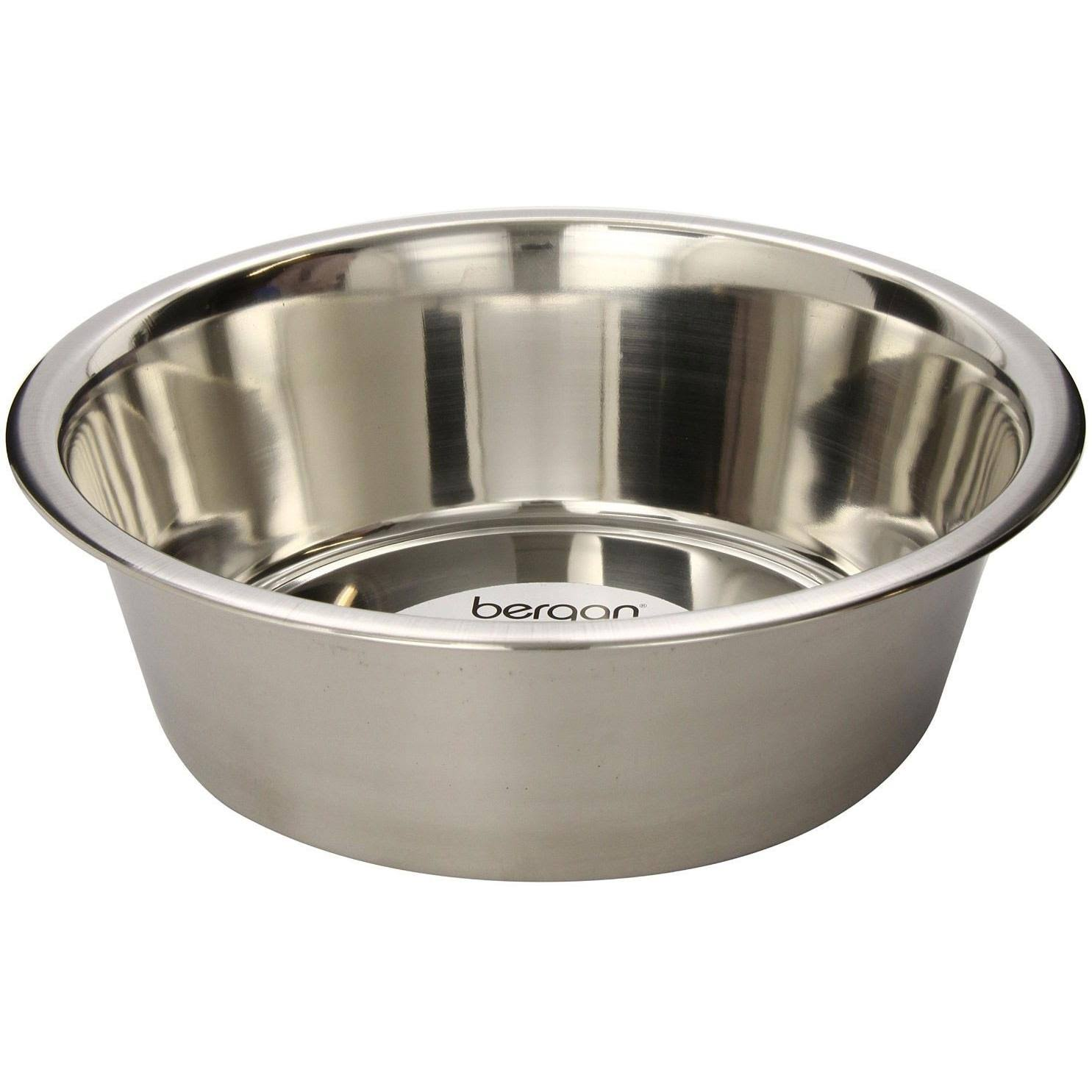 Bergan Stainless Steel Dog Bowl - 17 Cup
