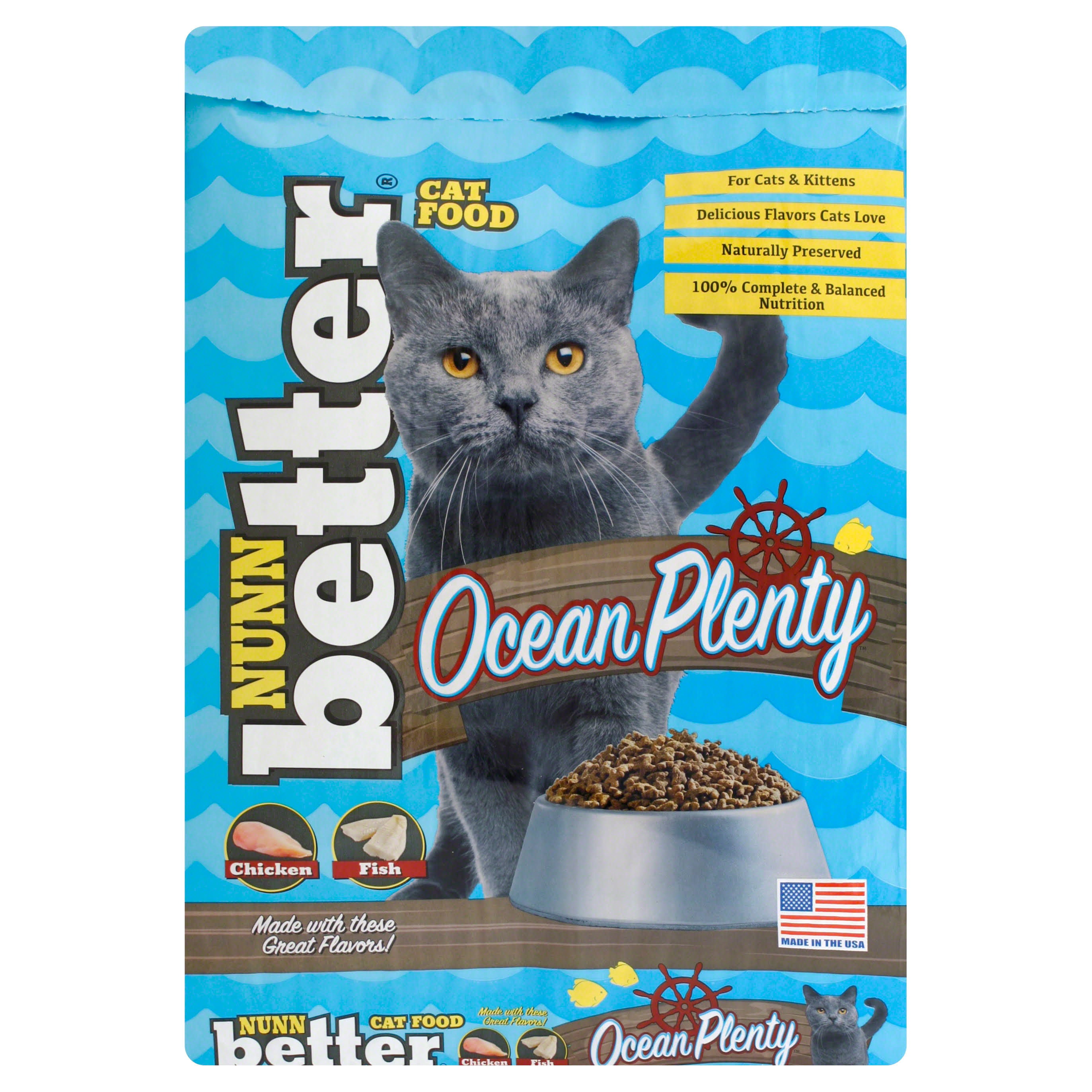 Nunn Better Cat Food, Ocean Plenty - 13 lb