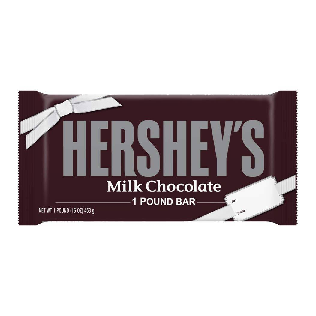 Hershey's Holiday Milk Chocolate Bar - 453g