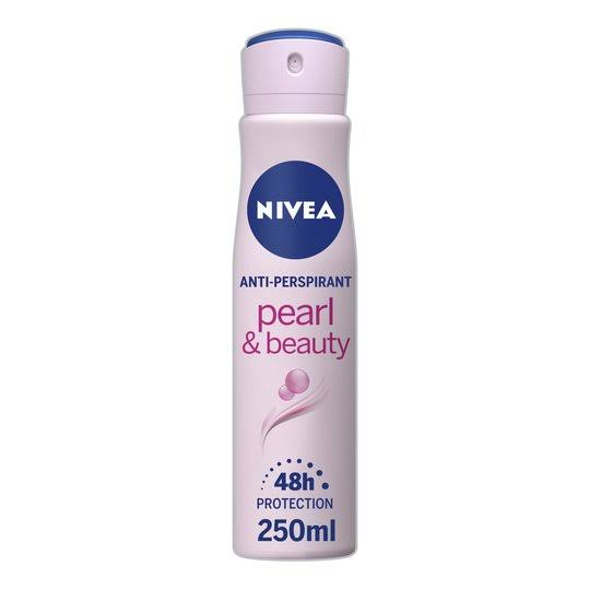 Nivea Pearl & Beauty Anti-perspirant Deodorant Spray - 250ml
