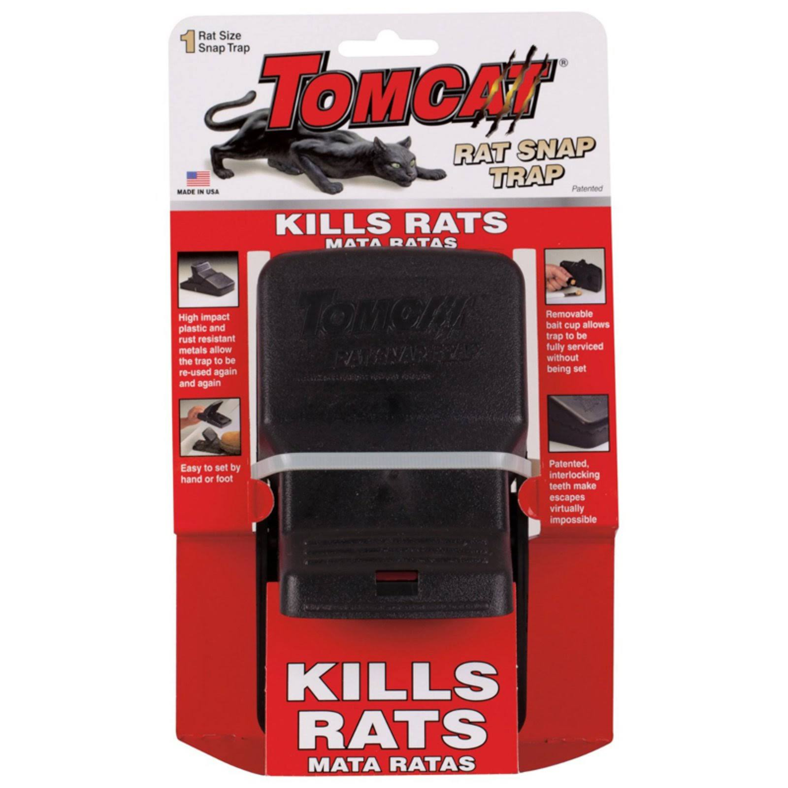 Tomcat Rat Snap Rat Trap