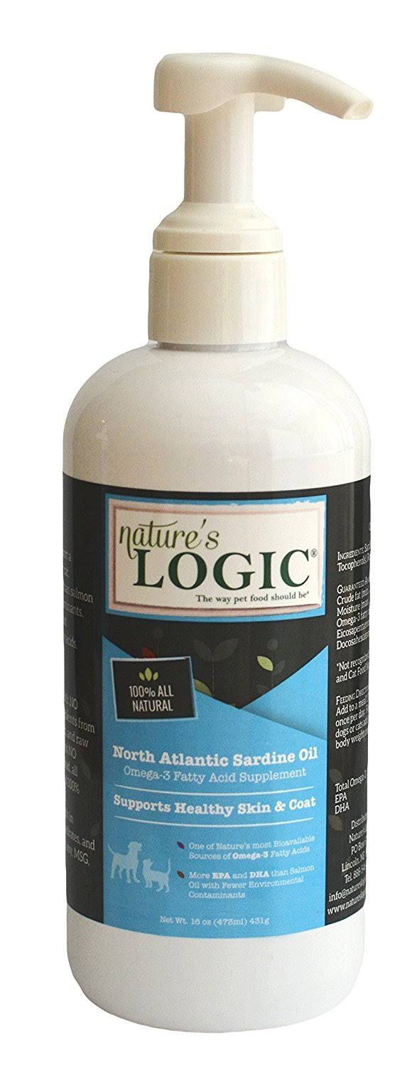 Nature's Logic Sardine Oil Supplement for Pets