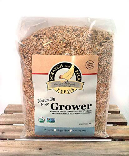 Scratch and Peck Feeds Naturally Free Organic Grower Feed for