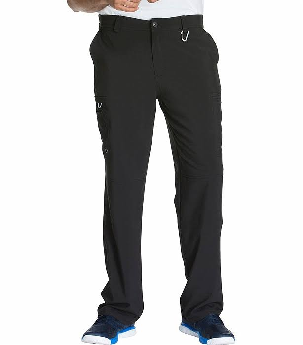Cherokee CK200A Men's Fly Front Pant - Black - L