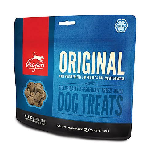 ORIJEN Freeze Dried Original Dog Treats - 3.25 oz