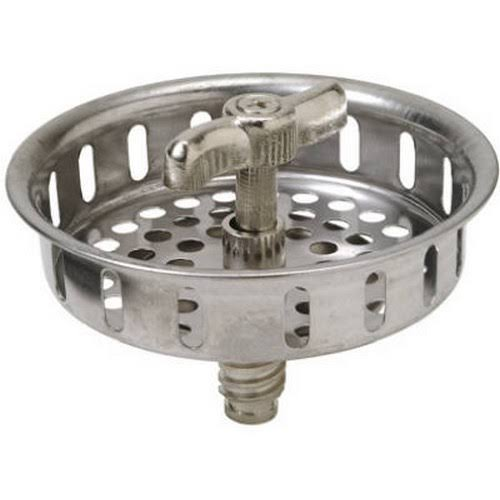 Master Plumber 738138 Replacement Basket Strainer - Stainless Steel