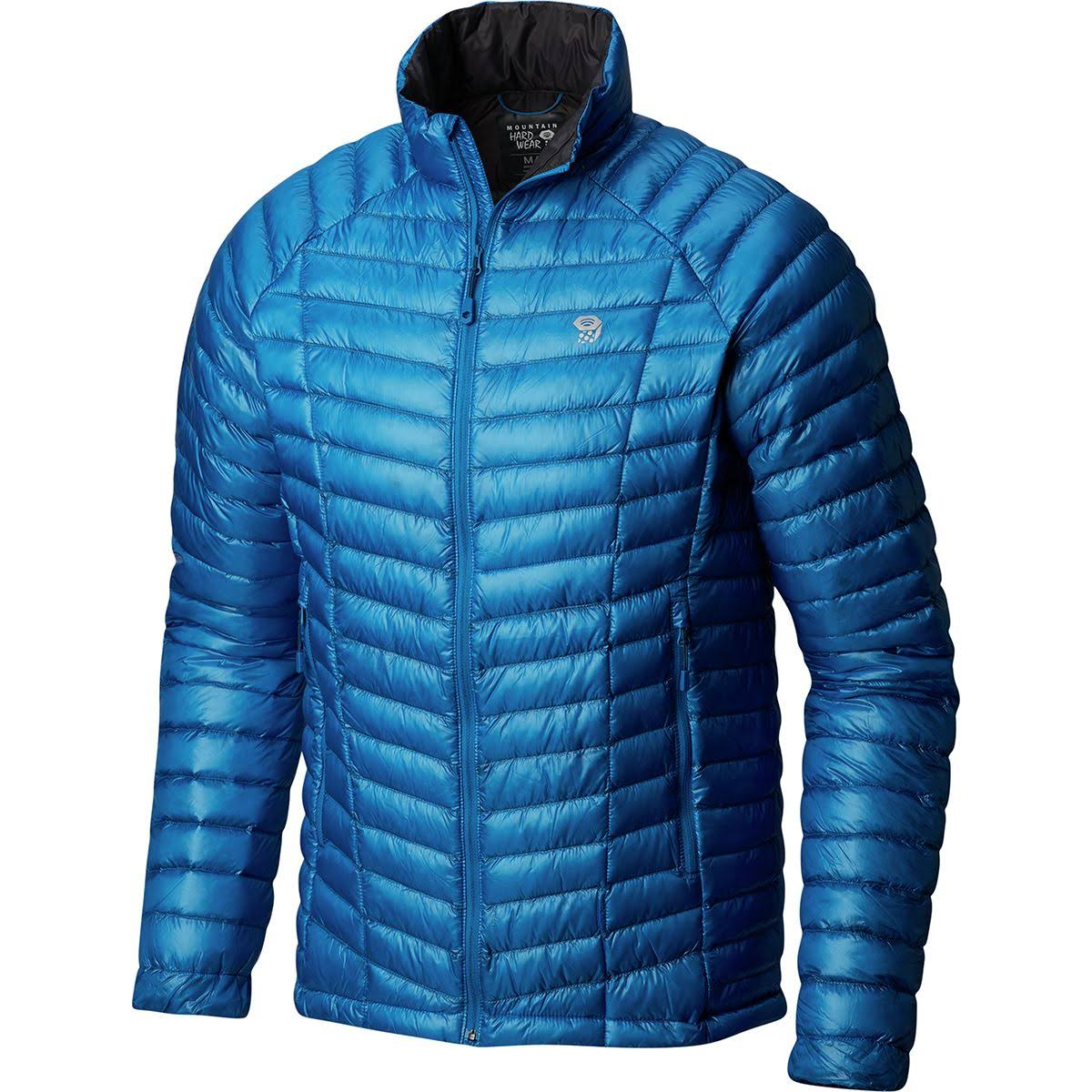 Mountain Hardwear Ghost Whisperer Down Jacket (XL, Blue)