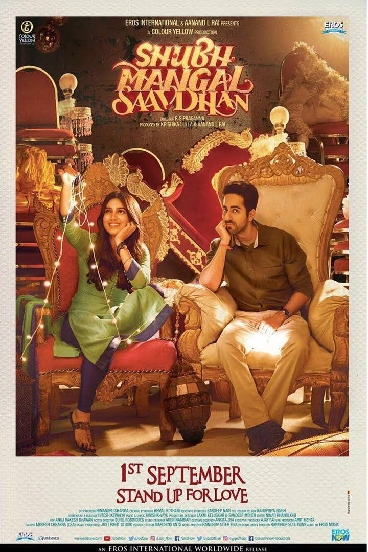 Shubh Mangal Saavdhan Hindi Movie Download WEB-DL 2017