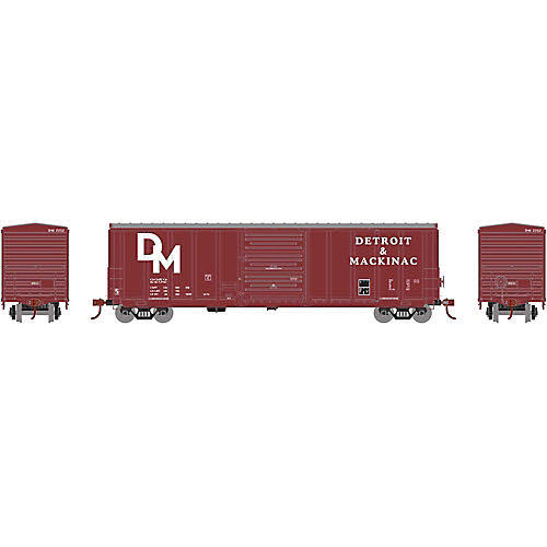 Athearn ATH15687 HO RTR 50' PS 5277 Box, D&M #2252