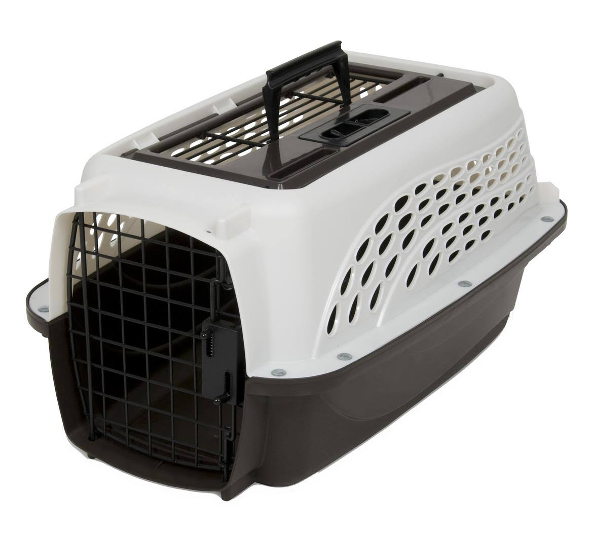 Petmate 2 Door Top Load Kennel Crate Carrier - Pearl White, 19""