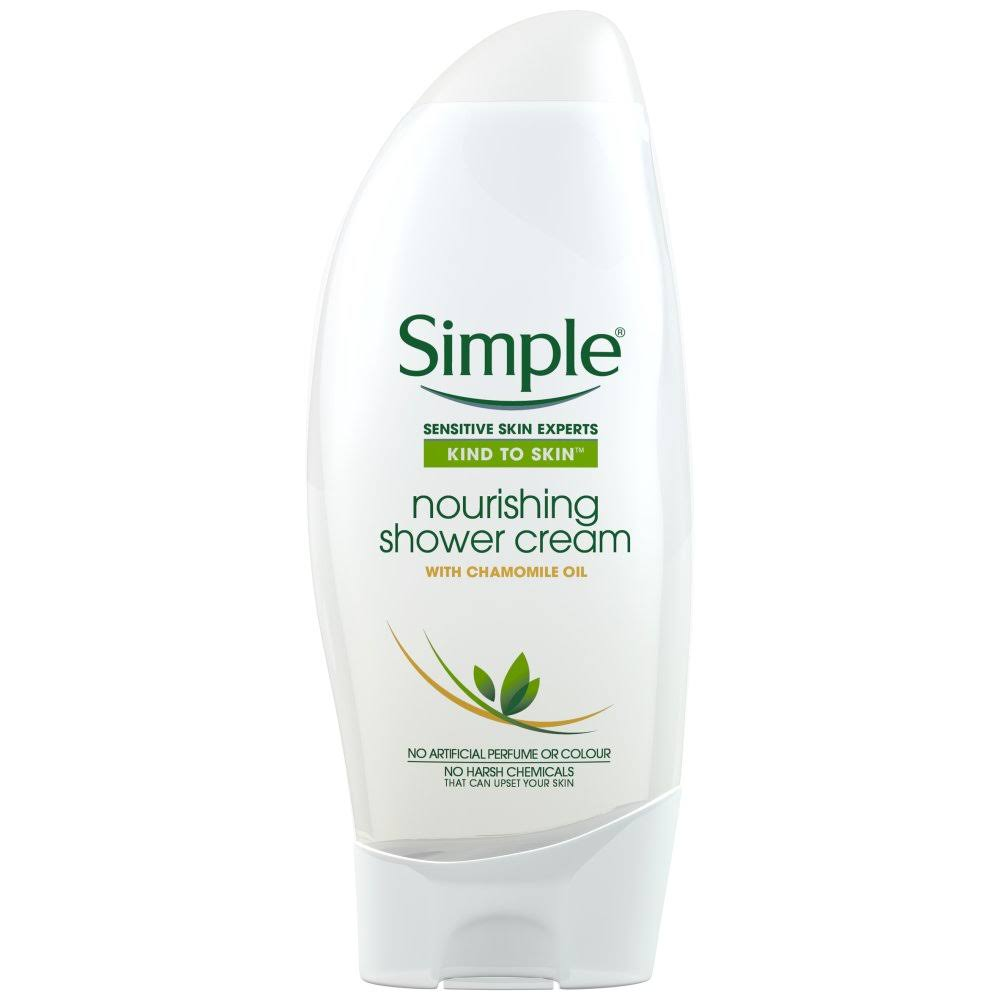 Simple Kind to Skin Soothing Shower Cream - 250ml