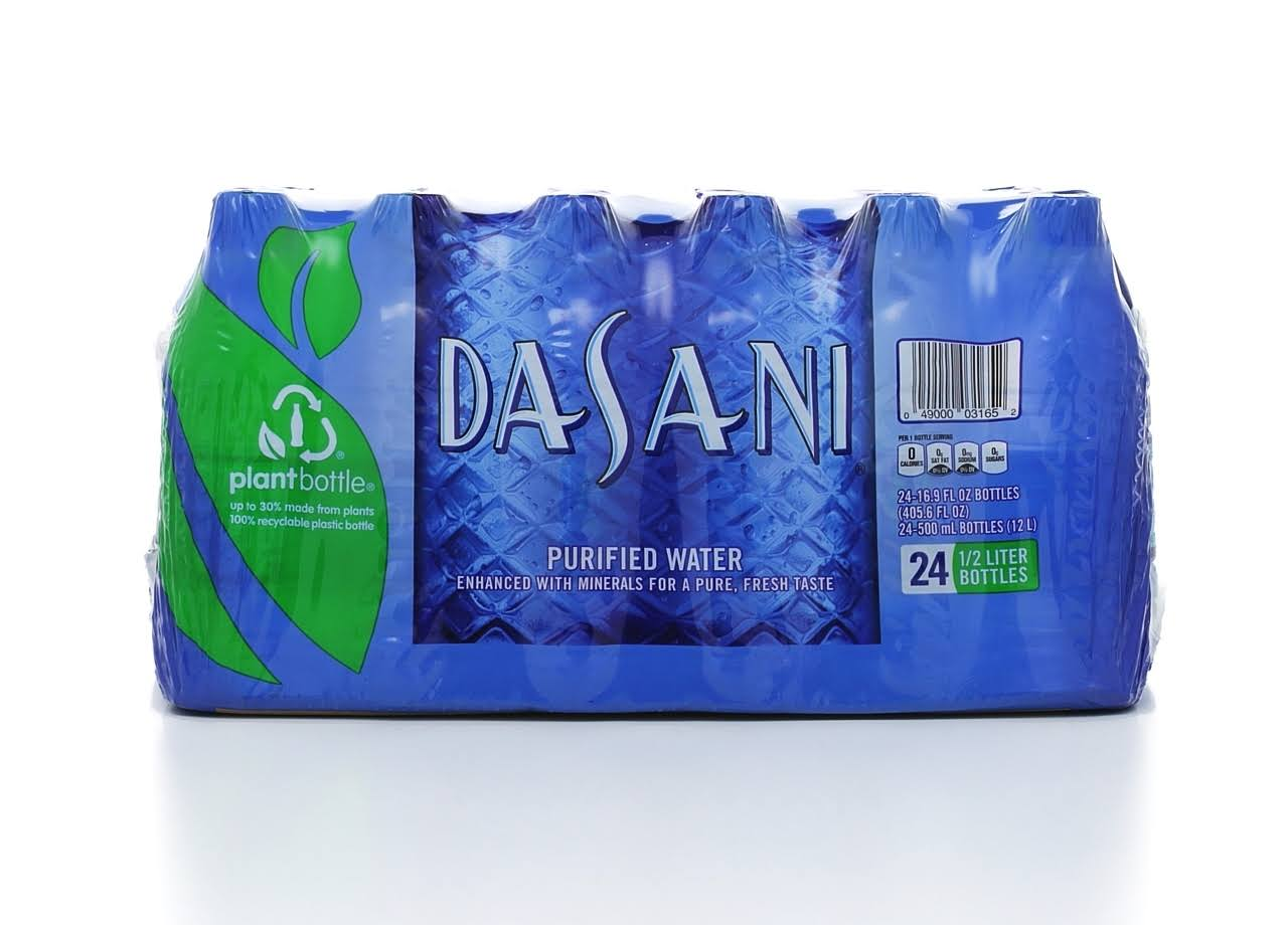 Dasani Purified Bottled Water - 16.9oz, 24ct