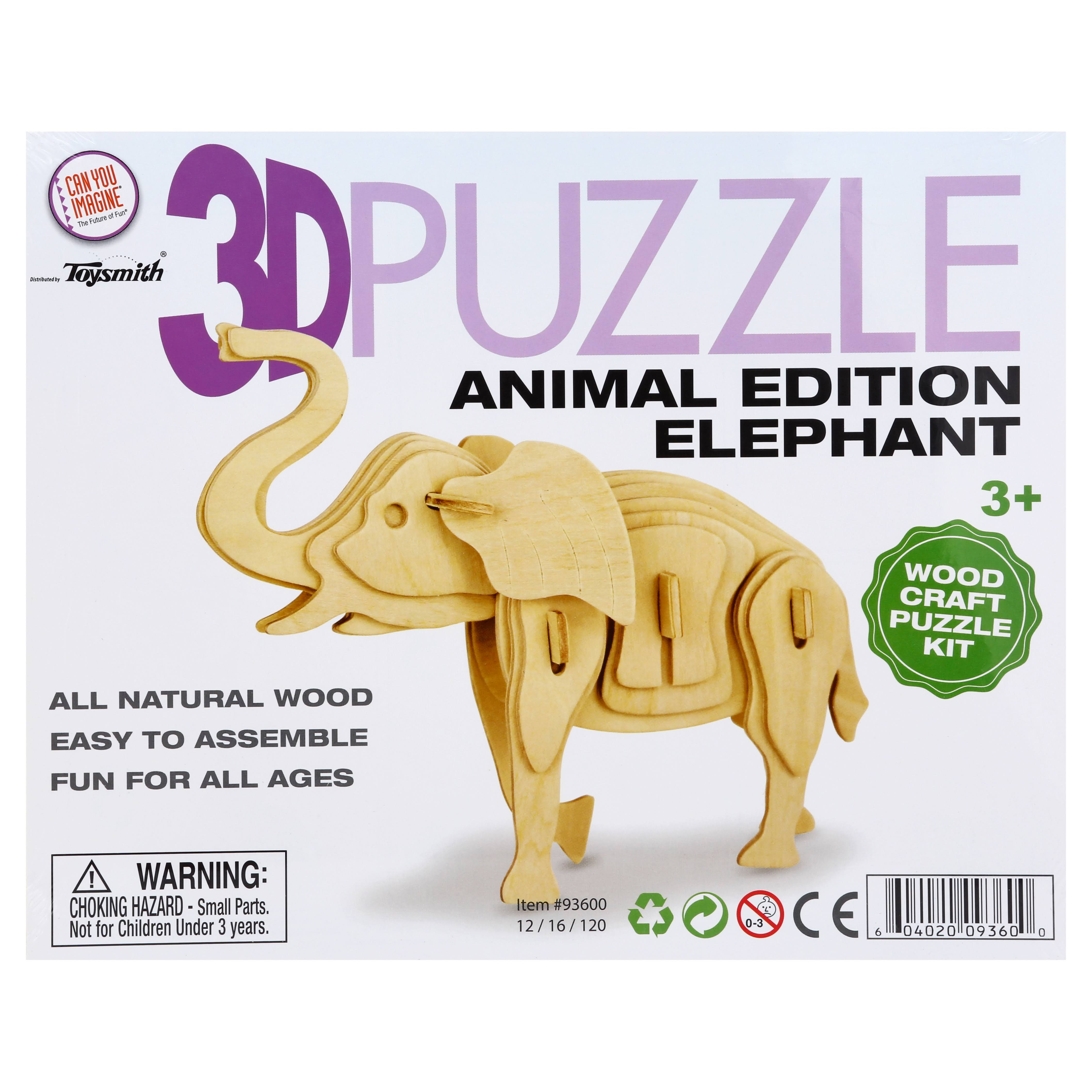 Nz Toys 3d Puzzle (Animals Edition) - Crocodile