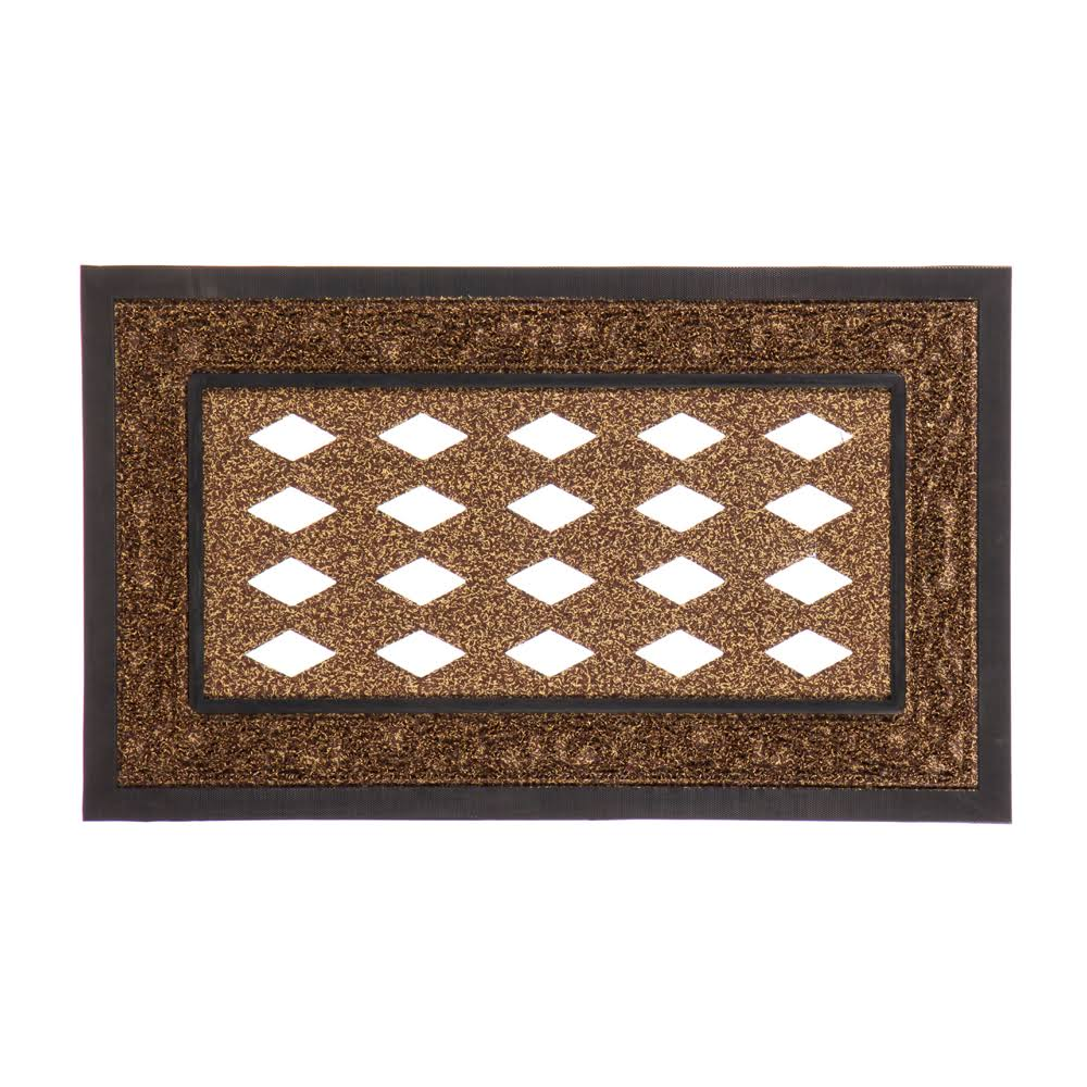 Evergreen Brown Scroll Sassafras Mat Tray