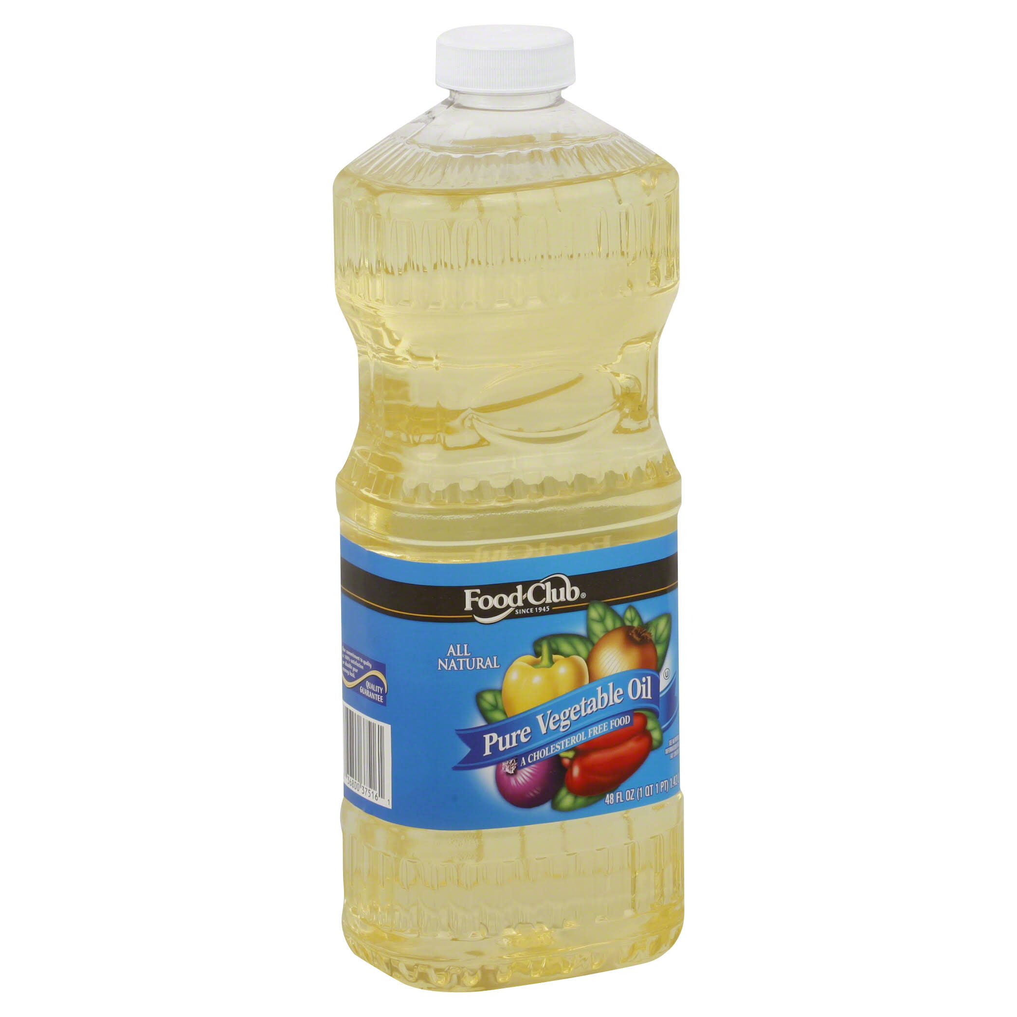 Food Club Vegetable Oil - 48oz