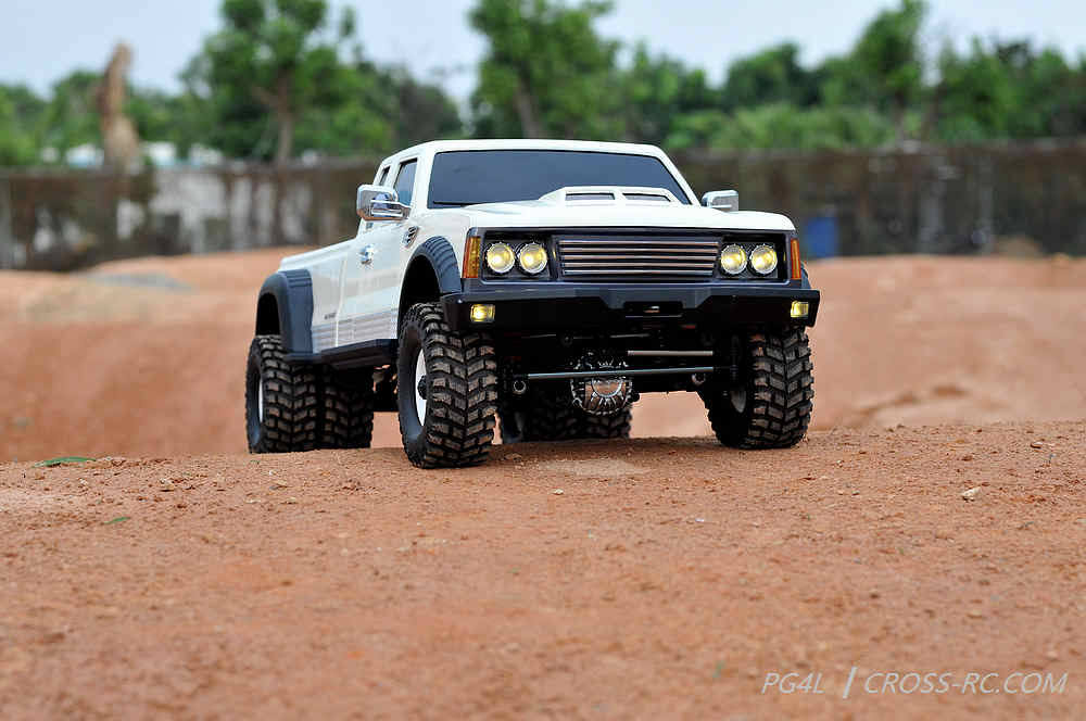 Cross RC - PG4L 1/10 Dually 4x4 Pickup Truck Crawler Kit, 2-Speed