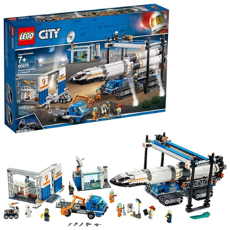 Lego 60229 City Rocket Assembly Toy Set