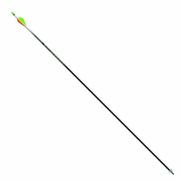 "Easton 819388 Axis Arrow - with 2"" Vane, Black, 6pk"