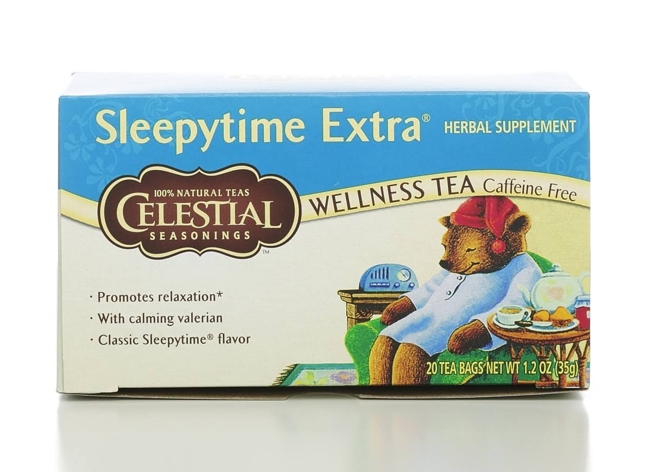 Celestial Seasonings Sleepytime Extra Wellness Tea - 20ct