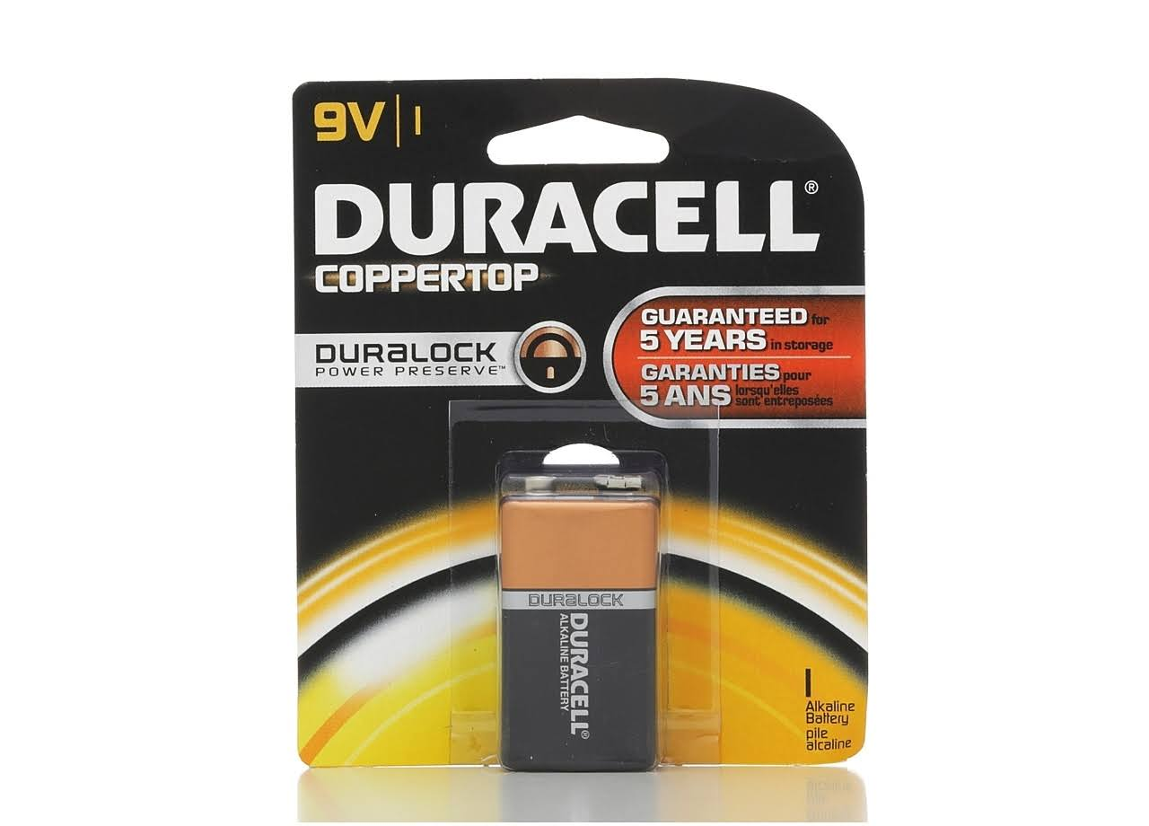 Duracell Alkaline 9V Battery