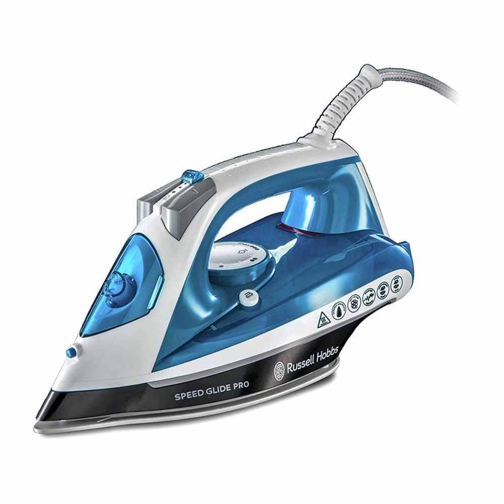 Russell Hobbs Speed Glide Iron - Blue and White, 2600W