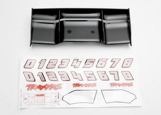 Traxxas 5446 Black Wing for Revo