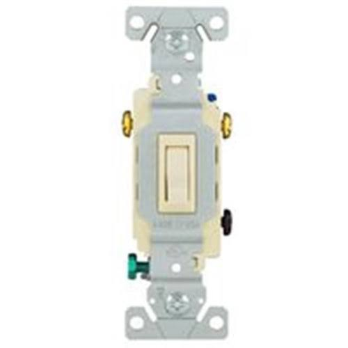 Cooper Wiring Devices 3 Way Toggle Switch - 15 Amp, 120V