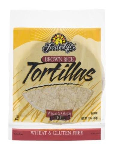 Food For Life Brown Rice Tortillas - 340g
