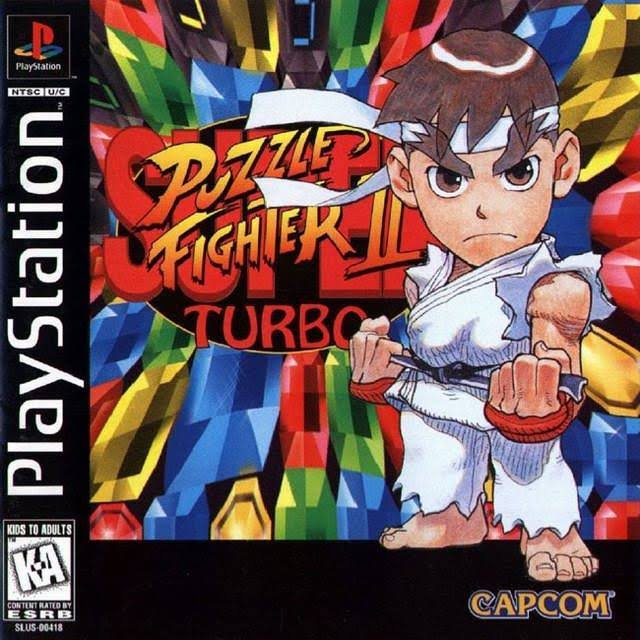 Super Puzzle Fighter II Turbo - Playstation 1