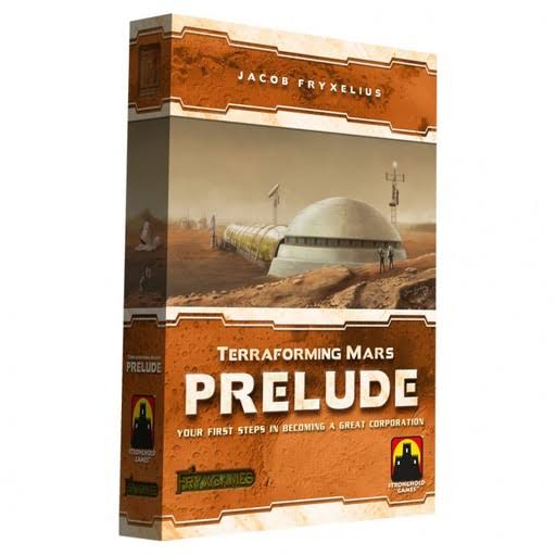 Terraforming Mars Prelude Expansion Board Game