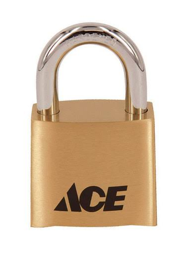Ace 1-7/8 in. 4-Dial Combination Die Cast Padlock(D381-50051)