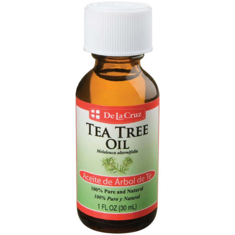 De La Cruz Tea Tree Oil - 1oz, 7pk