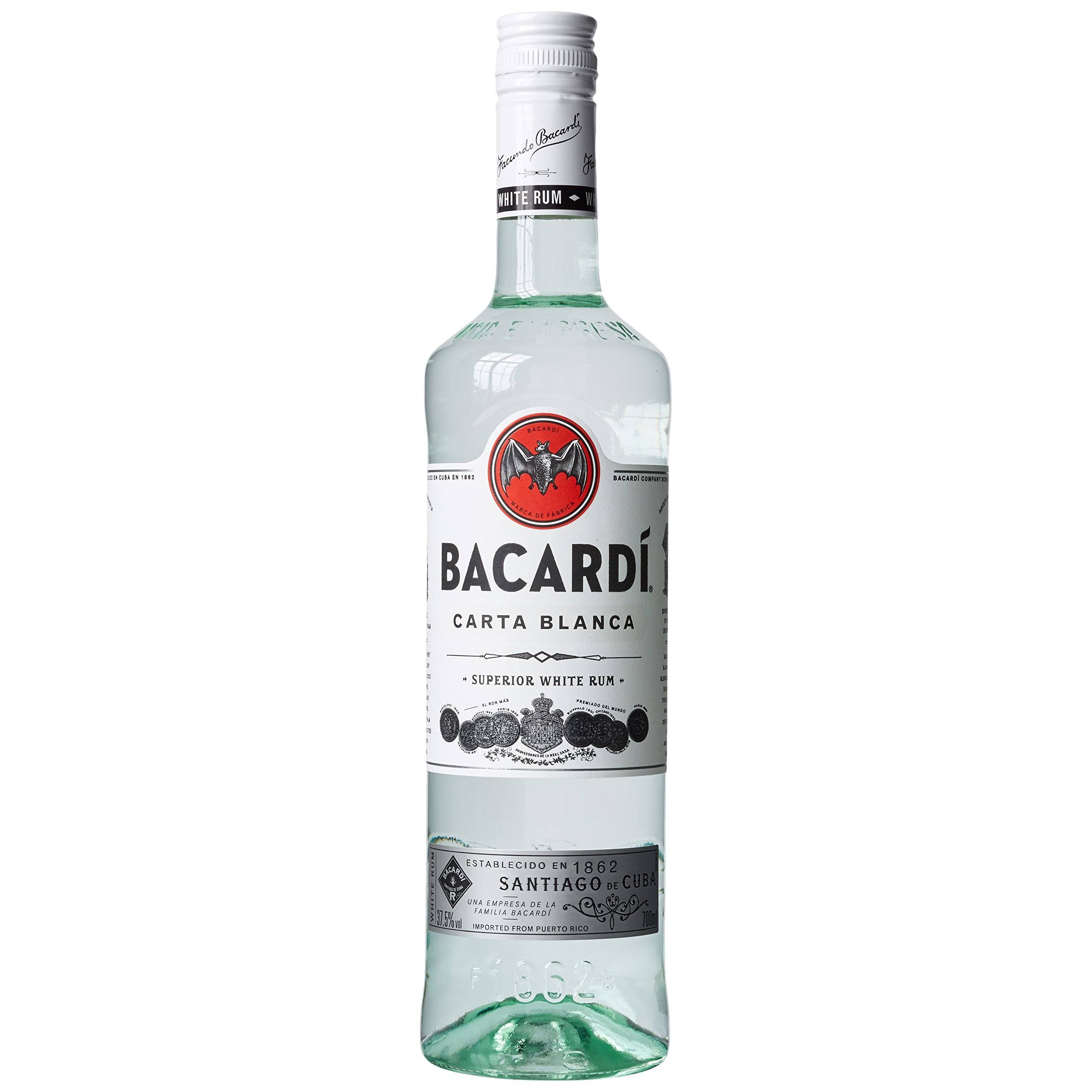 Bacardi Superior Rum - 700ml