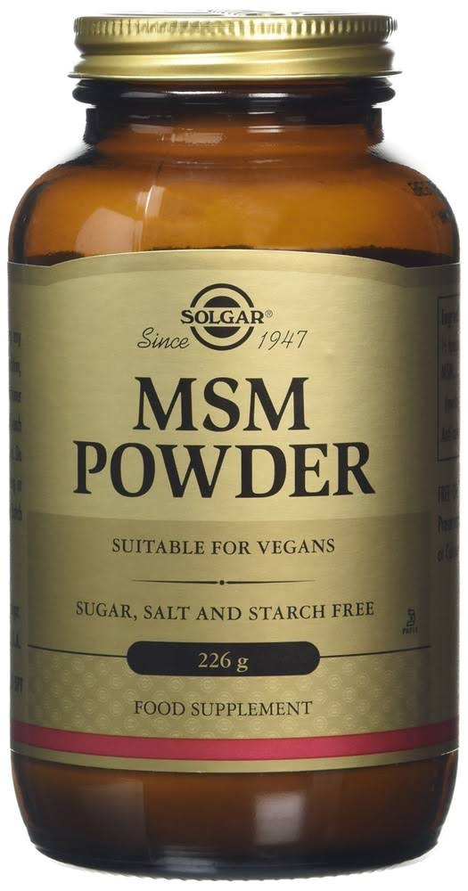 Solgar MSM Powder Dietary Supplement - 226g