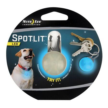 Nite Ize SpotLit Dog Collar Light - Blue