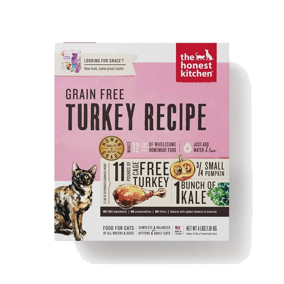 The Honest Kitchen Grain Free Cat Food - Turkey