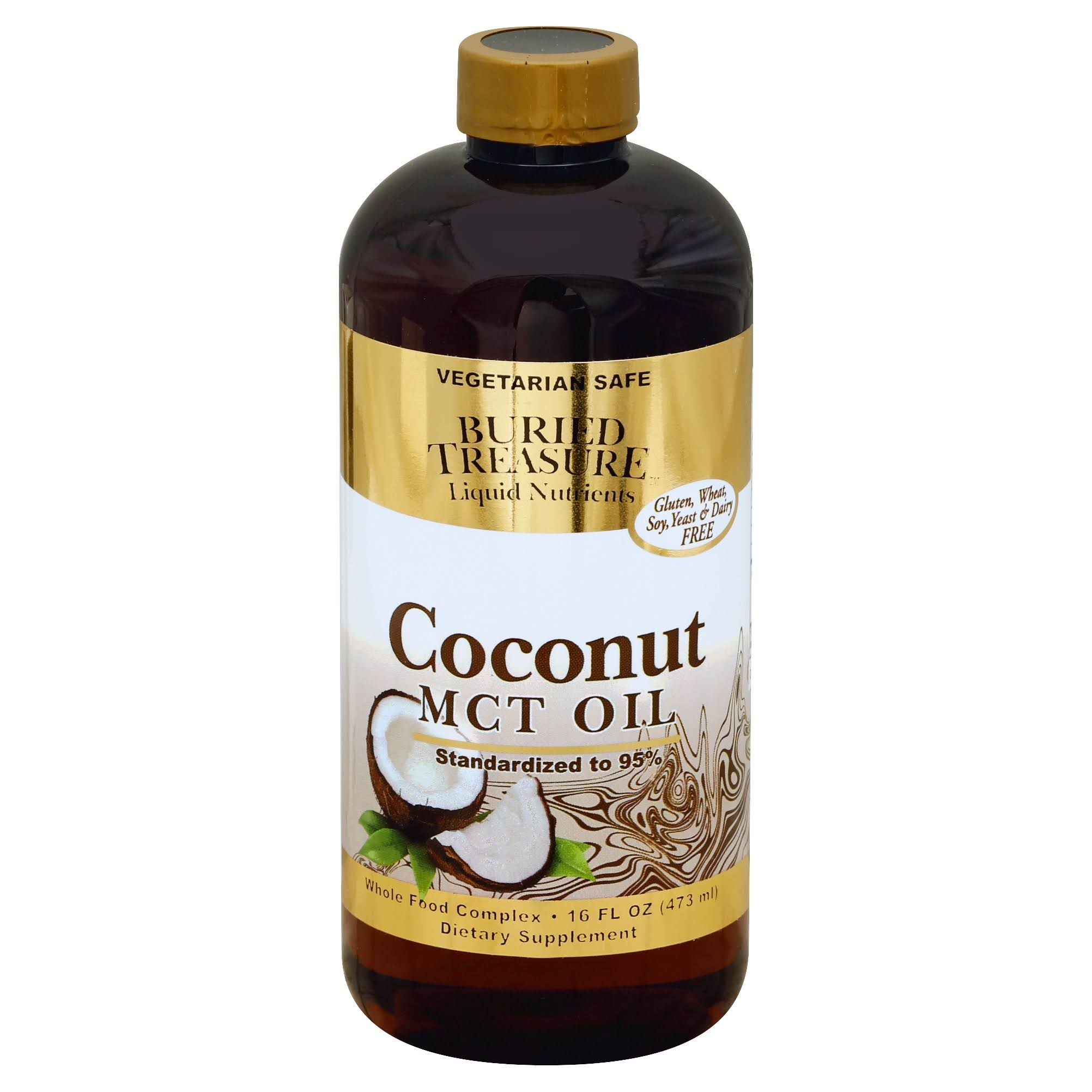 Buried Treasure Coconut MCT Oil - 16 oz