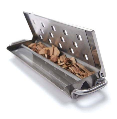 Broil King Imperial Smoker Box - With Slider Lid, Stainless Steel