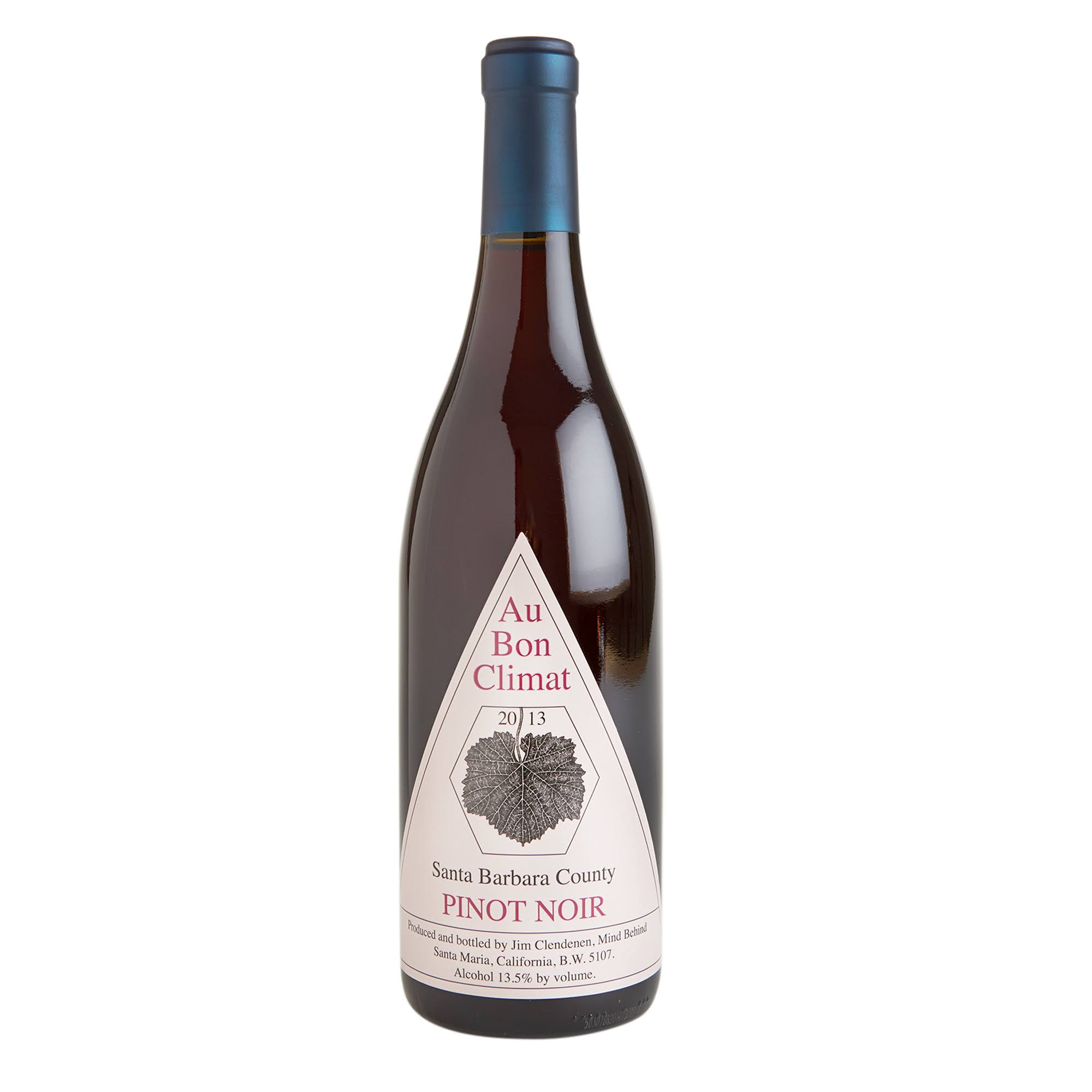 Au Bon Climat Pinot Noir, Santa Barbara County (Vintage Varies) - 750 ml bottle