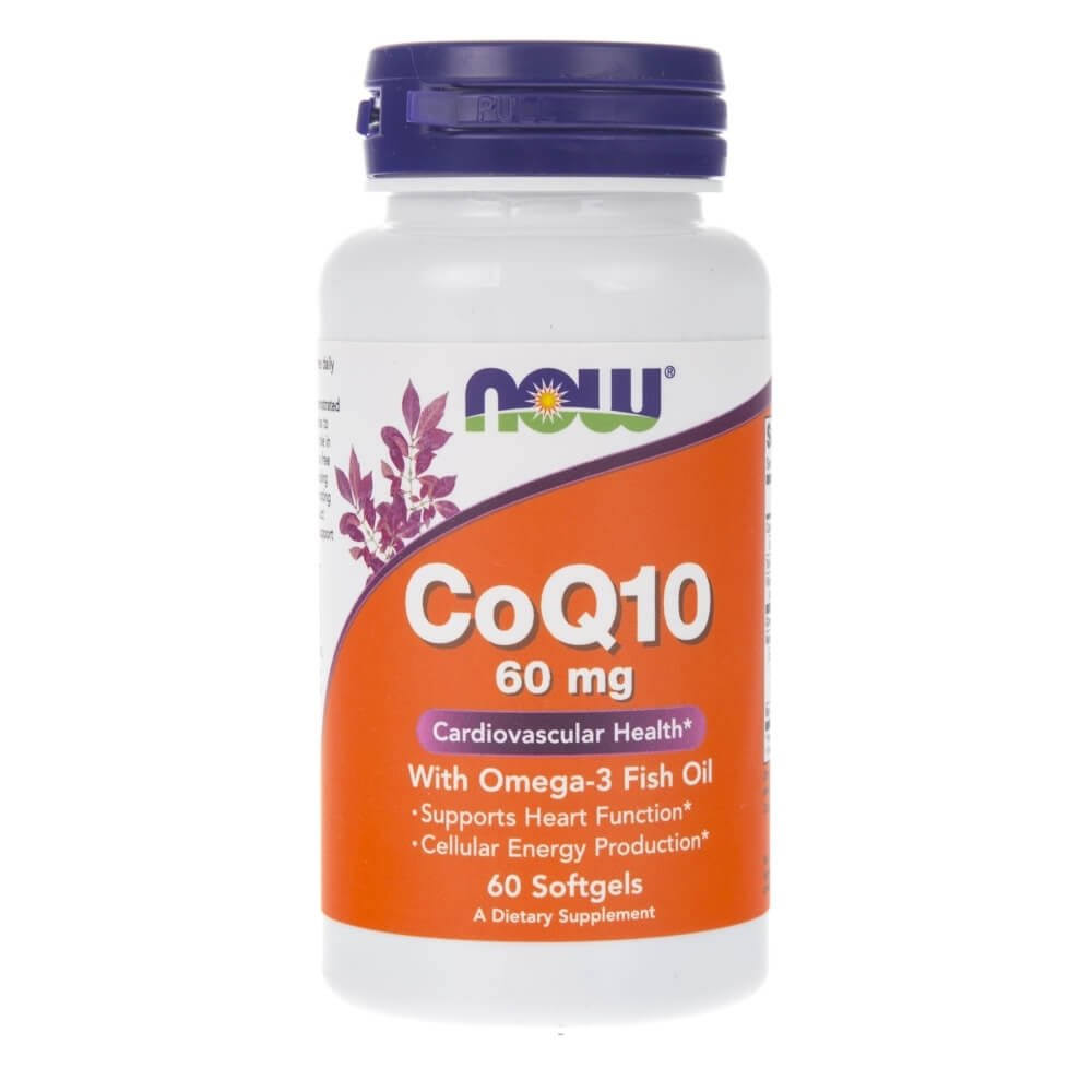 Now Foods CoQ10 with Omega-3 Fish Oil